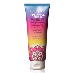 New - 4 Pack - Pacifica Pineapple Curls Shampoo